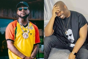 See What Davido Said After Don Jazzy Begged Him For An iPhone 12 Pro Max Give Away